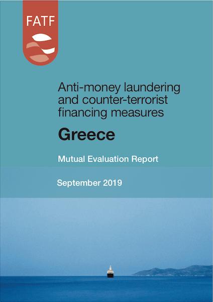 FATF Mutual Evaluation Report - Greece September 2019