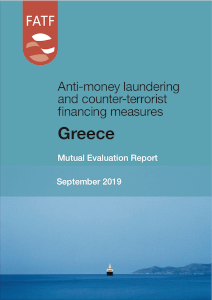 FATF Mutual Evaluation Report - Greece September 2019