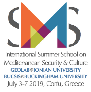 Summer School in Mediterranean security, from July 3 rd to 7 th 2019.