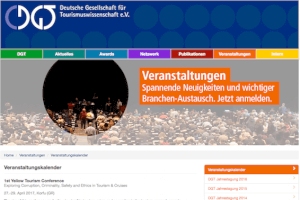 The YTC in the German Tourism Society network